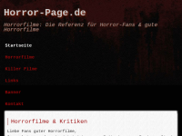 Horror-Page