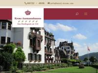 Hotel Krone in Rüdesheim-Assmannshausen, Rheingau
