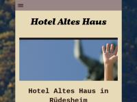 Altes Haus Hotel Assmannshausen