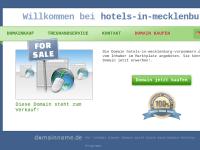 Hotels in Mecklenburg-Vorpommern