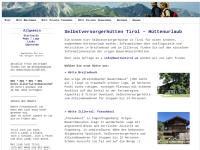 Selbstversorgerhütten Tirol