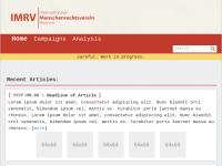 Internationaler Menschenrechtsverein Bremen e.V