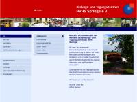 Heimvolkshochschule Springe e.V. - Bildungs- und Tagungszentrum
