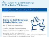 Institut für Gebärdensprache in Baden-Württemberg gGmbH