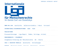 Internationale Liga für Menschenrechte