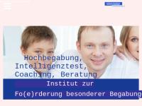 Institut zur Fo(e)rderung besonderer Begabungen