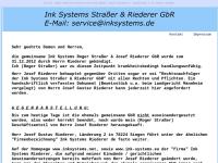 Ink Systems Straßer & Riederer GbR