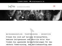 Krimi-Events zum Mitspielen - innepötte Szenetheater