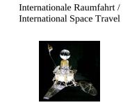Internationale Raumfahrt