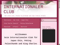 Int. Club für Japan Chin Peking Palasthunde und King Charles Spaniel.