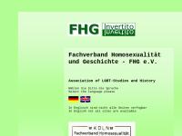Fachverband für Homosexualität und Geschichte e.V. (FHG)