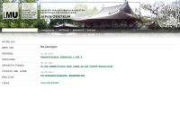 Japanologie an der Ludwig-Maximilians-Universität München