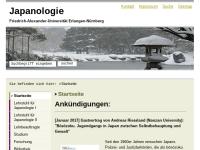 Japanologie an der Friedrich-Alexander-Universität