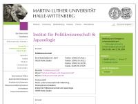 Seminar für Japanologie an der Martin-Luther-Universität