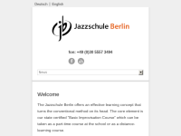 jazzschule berlin - für alle Instrumente und Gesang