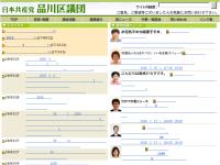 日本共産党品川区議団