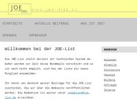 """JOE-List - """"Junge Osteuropa Experten"""""""
