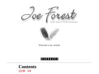 Joe Forest Guitar House