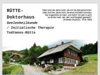 Tiefenpsychologisch fundierten Psychotherapie - Dr. Dr. Josef Robrecht