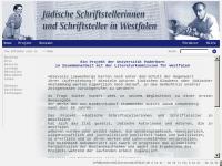 Projekt Jüdische Schriftsteller in Westfalen