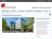 Uni Hamburg - Fachbereich Rechtswissenschaft (FB 02)