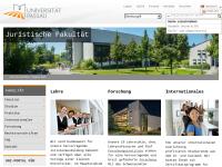 Juristische Fakultät der Universität Passau