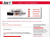 Just e.V. Forum für Existenzgründung und Unternehmen