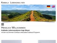 Kabbala Lebensanalysen Hermann Schweyer - Inge Meyer