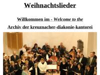 Kantoreiarchiv - Noten für Flöte und Blockflöte
