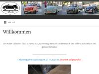 Käfer Cabriolet Club Schweiz