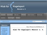 Klub für Kugelsport Münster e.V.