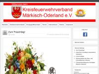 Kreisfeuerwehrverband Märkisch-Oderland e.V.