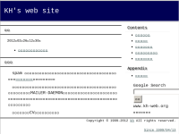 KH's web site