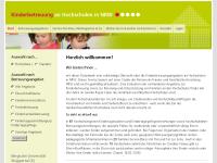 Betreuungsangebote an nordrhein-westfälischen Hochschulen