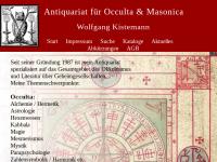 Antiquariat für Occulta und Masonica Wolfgang Kistemann