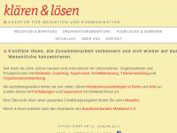Klären & Lösen, Agentur für Mediation und Kommunikation - Wilhelm Eßer