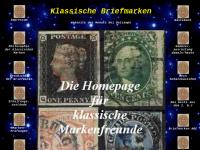 Klassische Briefmarken