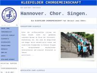 Kleefelder Chorgemeinschaft e.V. Hannover