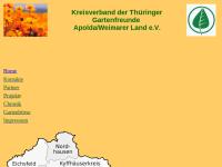 Kreisverband der Thüringer Gartenfreunde Apolda / Weimarer Land e.V.