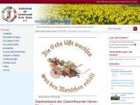 Stadtverband der Gartenfreunde Herne-Wanne e.V.