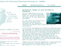 Klinik für Ästhetisch-Plastische Chirurgie Dr. med. Horst Sandner