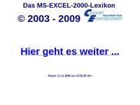 Das Excel-2000-Lexikon
