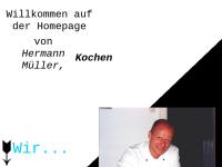 Hermann Müller - Kochen und Kunst