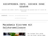 Kochproben.info. Kochen ohne Gewähr