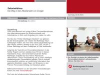 Kölner Markttage Zeitarbeit