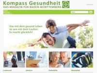 Kompass Gesundheit, das Magazin für Baden-Württemberg