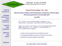 Konstruktionsbüro Heinz Schlüter