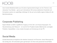 KOOB Agentur für Public Relations GmbH (GPRA)