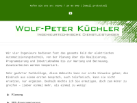 Wolf-Peter Küchler - Ingenieurtechnische Dienstleistungen