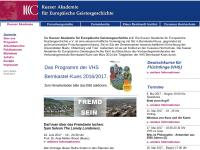 Kueser-Akademie für Europäische Geistesgeschichte e.V.